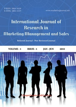 International Journal of Research in Marketing Management and Sales